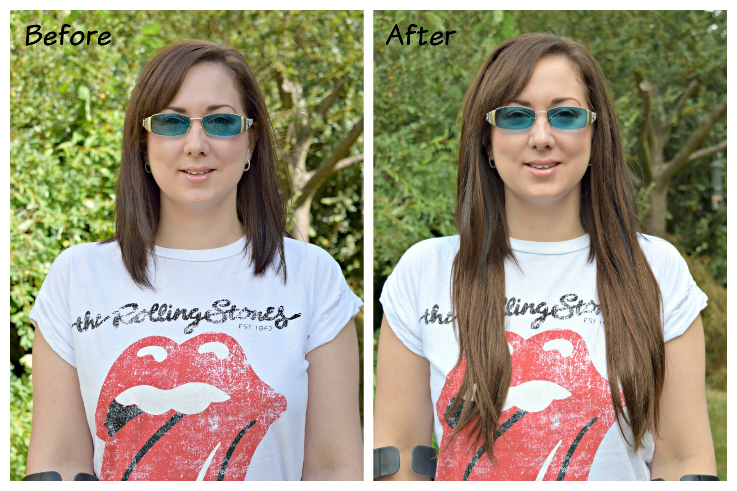 Irresistible me silky touch hair extensions when tania talks pmusecretfo Image collections